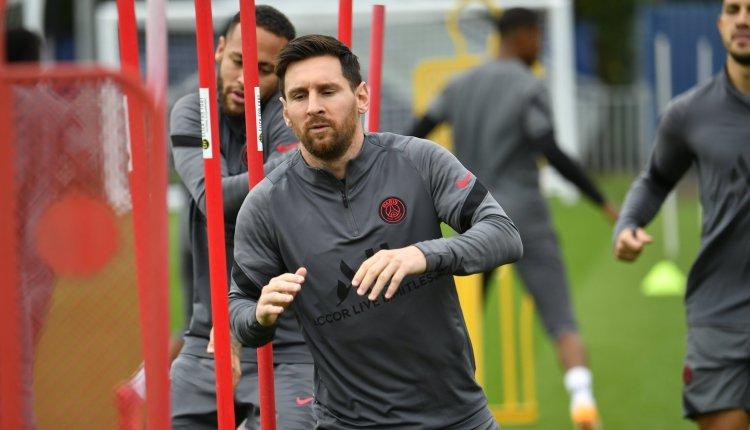 Messi y Verratti