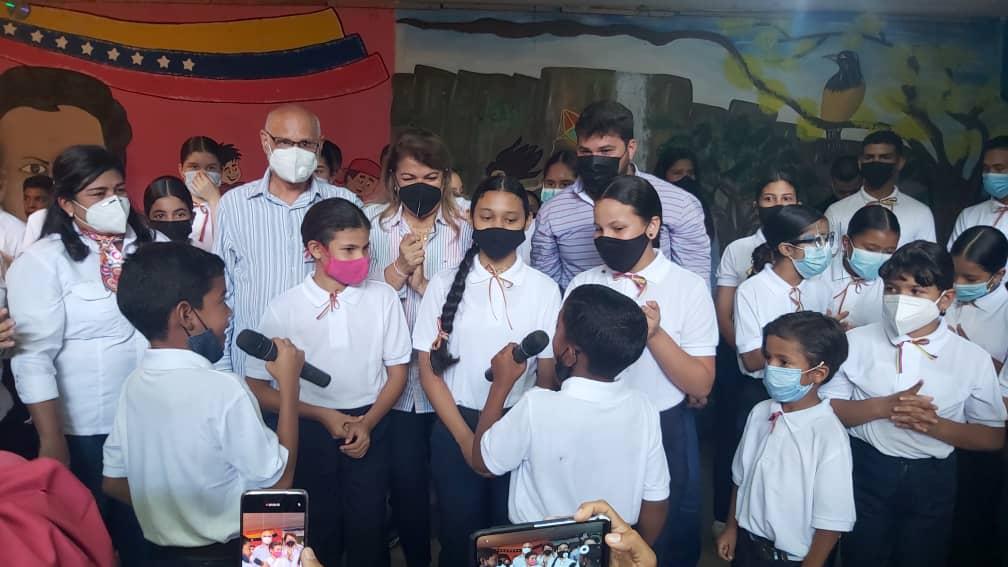 ministra santaella arranco en monagas plan una gota de amor para las escuelas laverdaddemonagas.com img 20210913 wa0001