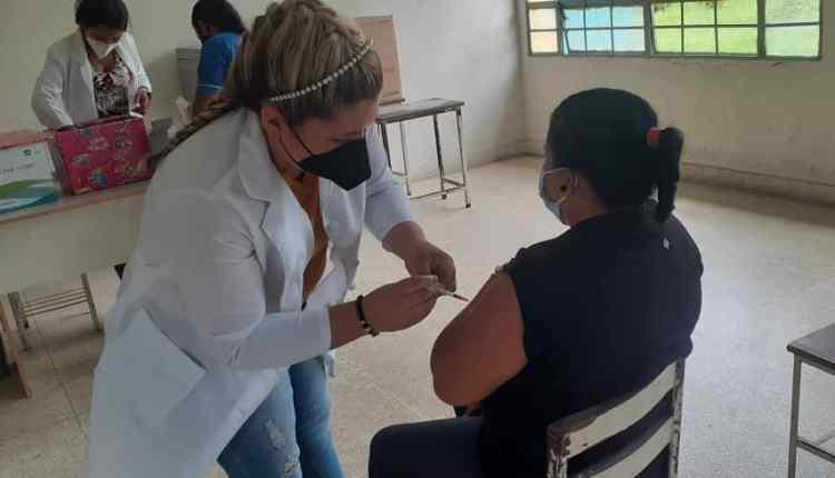 800 vacunas educadores