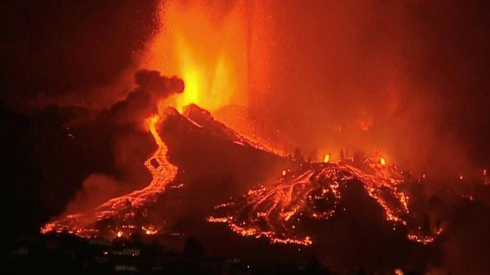 volcán de canarias la palma