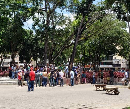 Protesta por gas