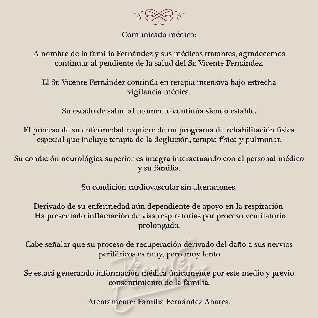 Así recordó Alejandro Fernández a su padre Vicente Fernández