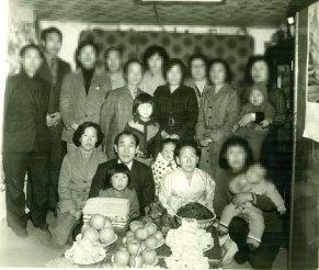 Ahnsahnghong con su esposa