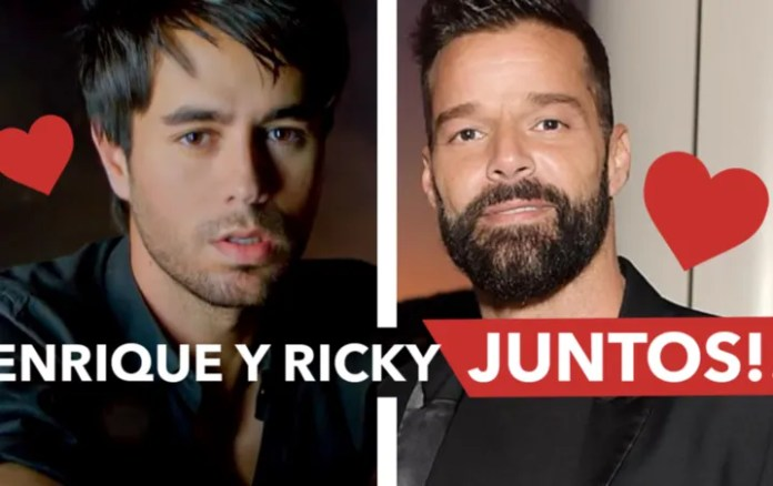 Enrique Iglesias and Ricky Martin reveals that his first tour will be in October