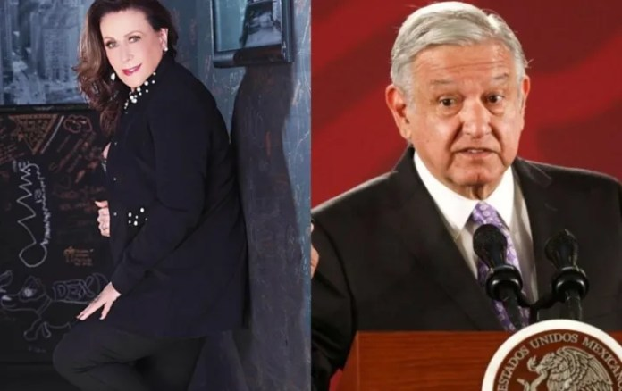 """Laura Zapata calls hugs for AMLO of people """"infected with Coronavirus"""""""