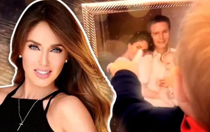 Anahi makes to cry to his son Manu, and you won't believe what was the reason