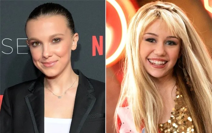 """Millie Bobby Brown became an actress for """"Hannah Montana""""/Photo: People"""