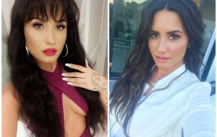 Demi Lovato reminded Selena Quintanilla with scandalous photography