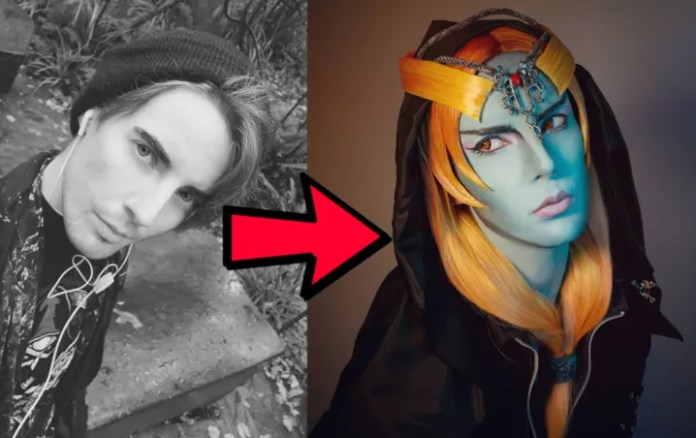 The Legend of Zelda: a Man makes a spectacular COSPLAY of Midna