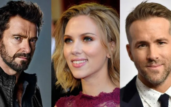 """Hugh Jackman and Ryan Reynolds """"angry"""" are the fault of Scarlett Johansson?"""