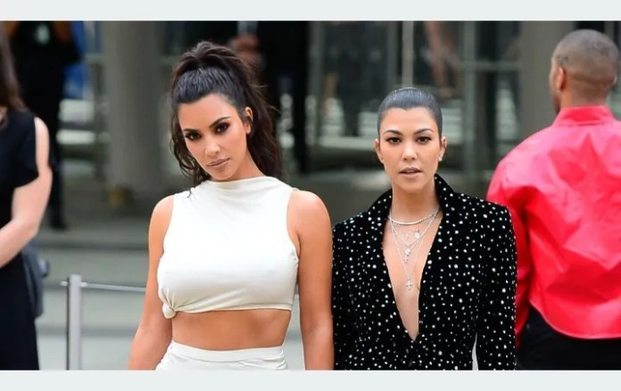 Kim Kardashian: So she RECONCILED with her sister Kourtney No more lawsuits!