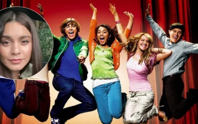 Vanessa Hudgens gives little surprise to fans of High School Musical