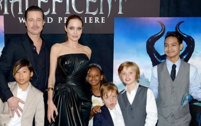 Brad Pitt manages to RECONCILE with their children after divorce with Angelina Jolie