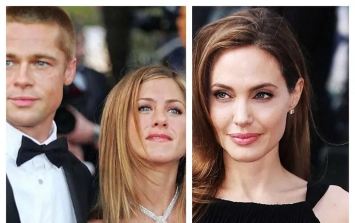 Angelina Jolie lied; yes, he met Jennifer Aniston before separating from Brad Pitt/Photo: Publimetro and Invisible Baba
