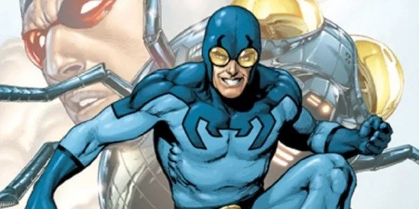 Ted Kord, the second incarnation of Blue Beetle/Photo by: CBR