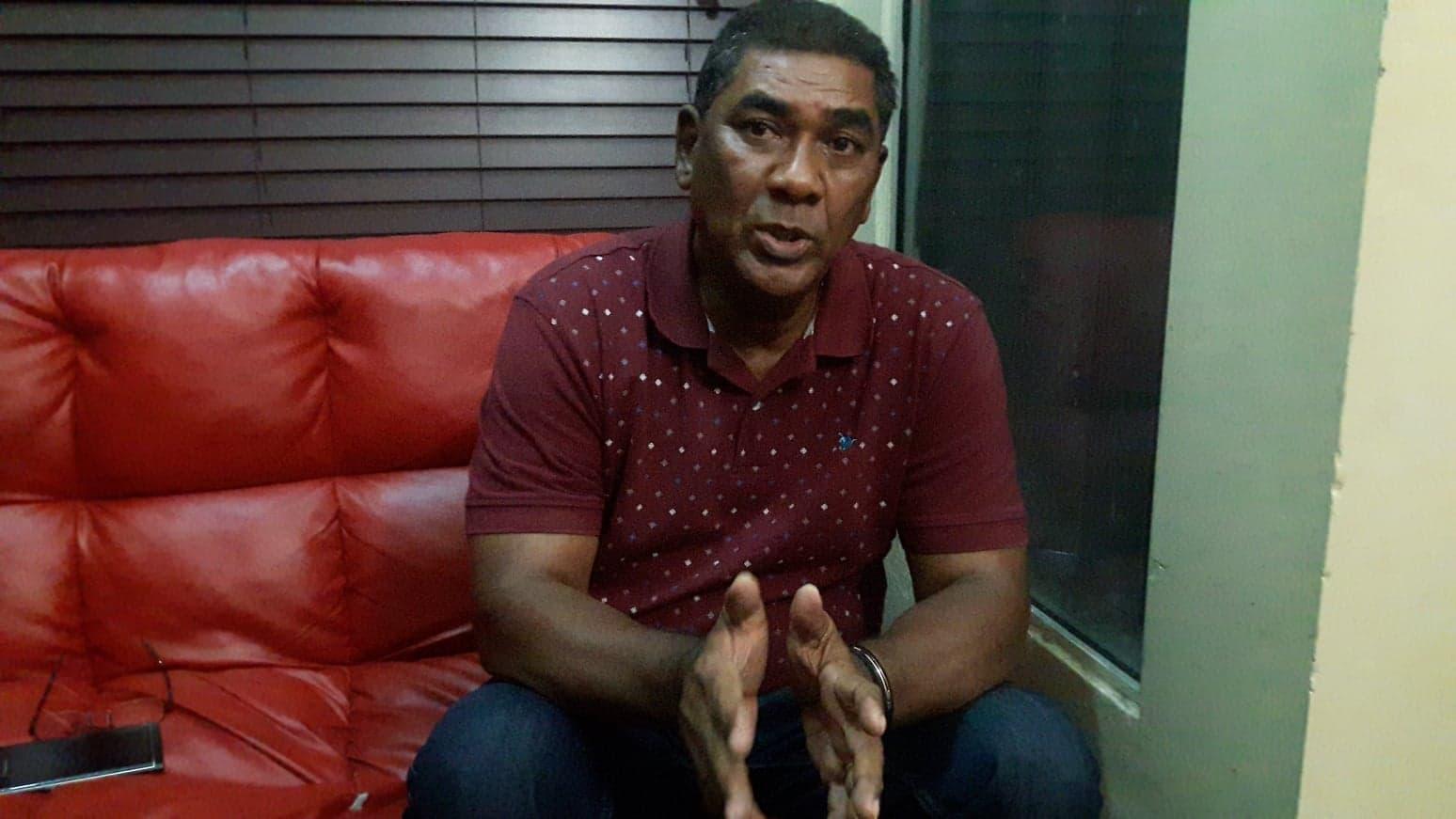 BARAHONA: Carlos García se une al dolor que embarga a los familiares de Bolívar D' Oleo