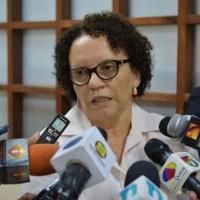 Miriam Germán está interna en la Plaza de la Salud