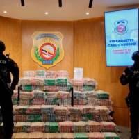 Decomisan casi 1,000 paquetes con sustancia se presume es cocaína en puerto Caucedo