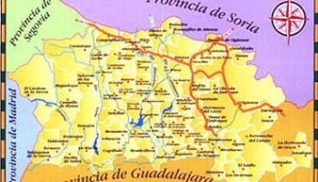 Mapa interactivo de la Serrana Celtibrica  Blog de La Vereda de