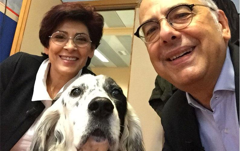 Anna, Cucciola e Gianluca Felicetti | Foto archivio LAV
