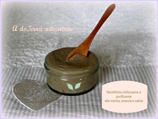 dentifricio rinfrescante e rinforzante