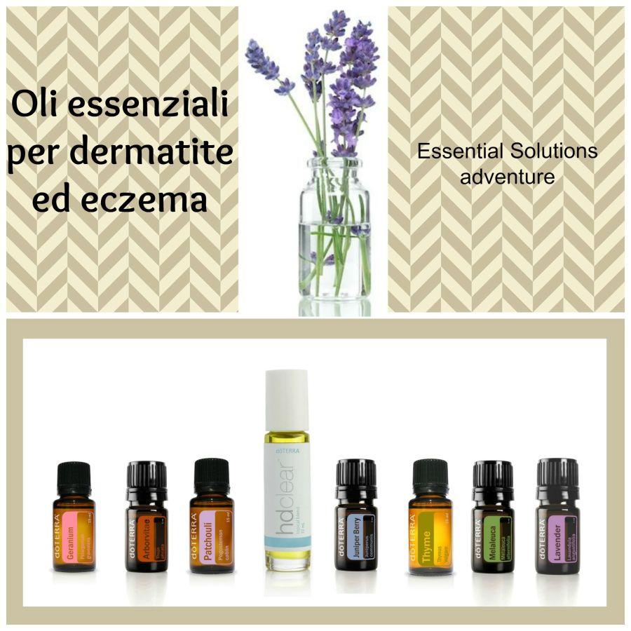 Oli per eczema completo