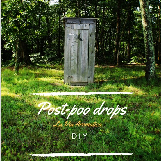 Post poo drops utedo