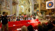 Tiro in Chiesa a Sforzatica in occasione delle Cresime.