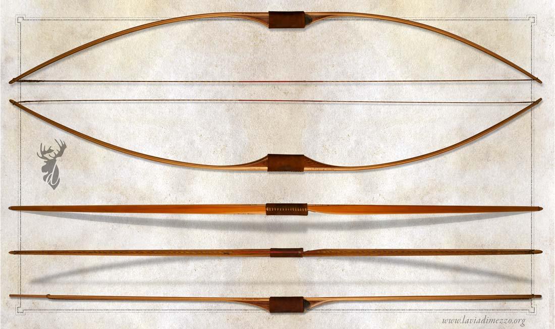 Come viene costruito un arco longbow for Materiali da costruzione che iniziano con i