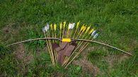 Arco realizzato da Donato Milesi perDomenicoParisi Data fine costruzione:20 settembre 2012 Tipo d'arco: Semi Longbow (tipo originale, metodo J.M.Coche) Modello: Ashram Lunghezza:70″ (pollici) Forza dell'arco: