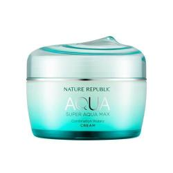 Nature Republic super aqua max watery cream- best moisturizers for oily skin