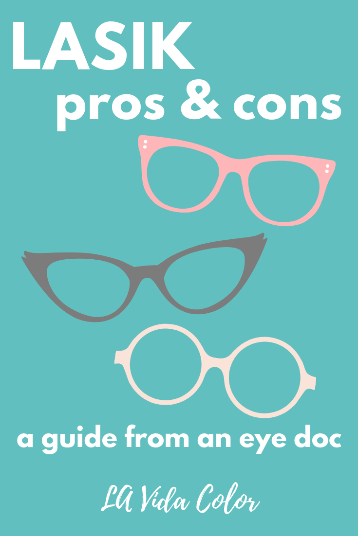 LASIK pros and cons guide at lavidacolor.com