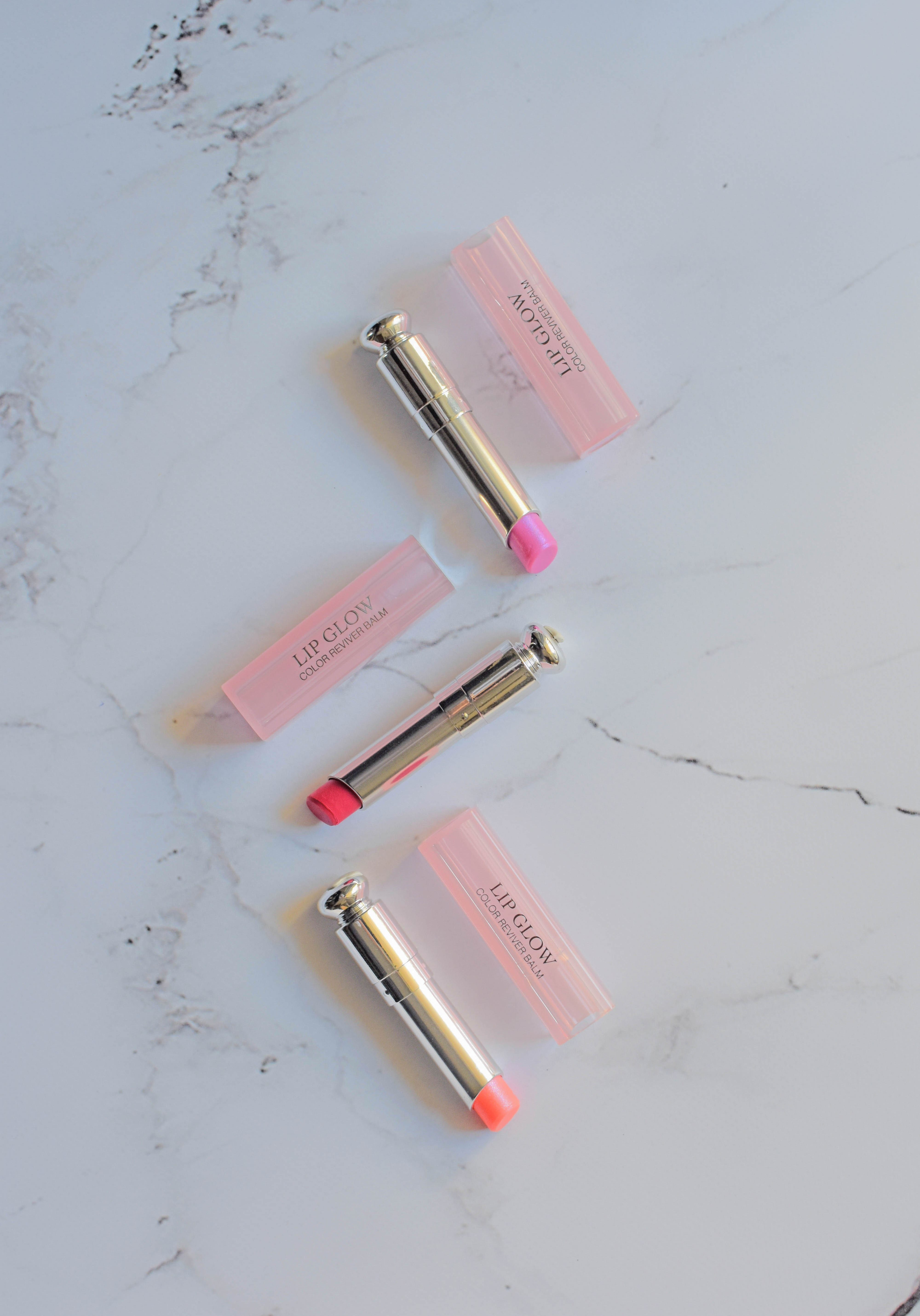 Dior Lip Glow Balm Review New Colors