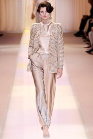 The audacity of elegant fabric by Armani - it's stunning! And absolutely enviable.