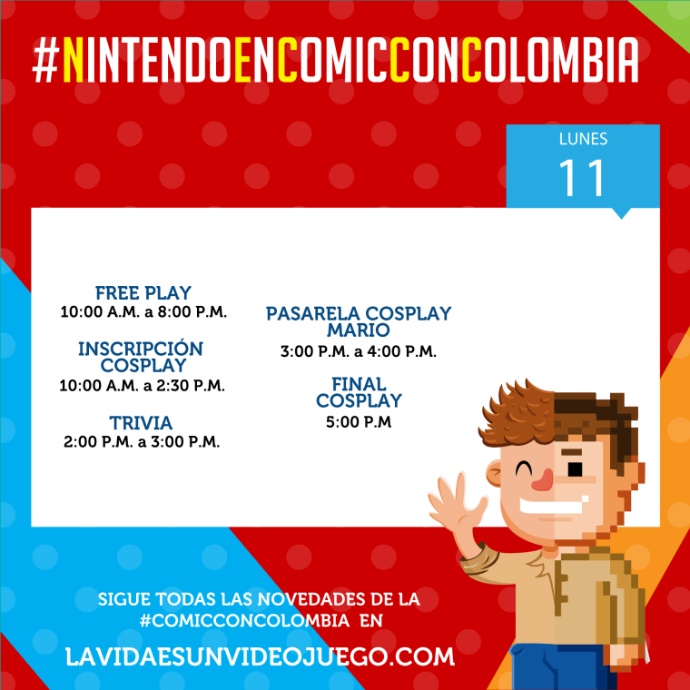 Nintendo_en_Comic_Con_Colombia_2018_4_la vidaes un videojuego