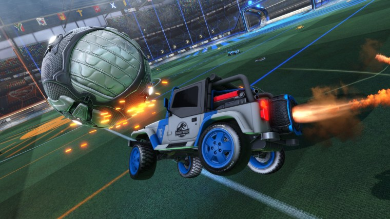 Rocket League_Jurassic World_La vida es un videojuego 1