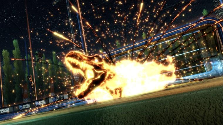 Rocket League_Jurassic World_La vida es un videojuego 2