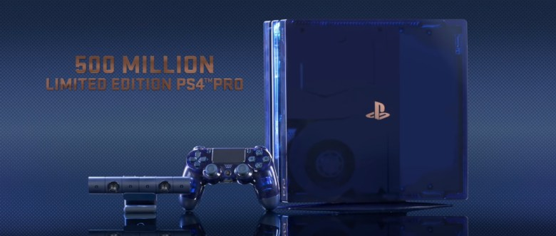500 Million Limited Edition PS4 Pro_lavidaesunvideojuego