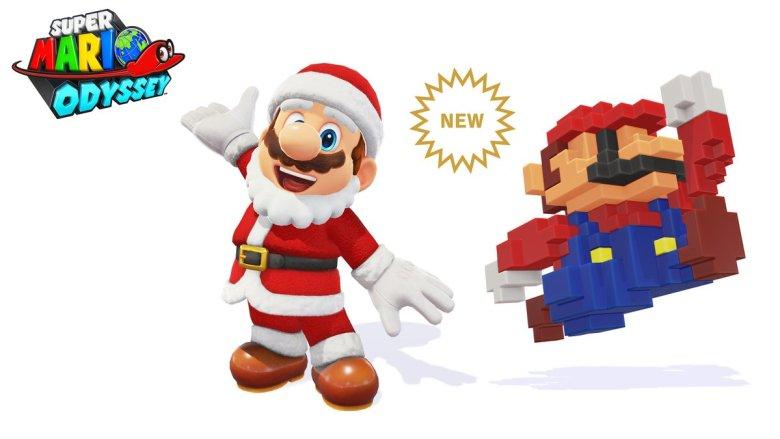 Super Mario Odyssey_nuevos_trajes_navidad_lavidaesunvideojuego