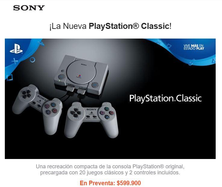 PlayStation Classic-precio-fecha-de-lanzamiento-Colombia-lavidaesunvideojuego-2