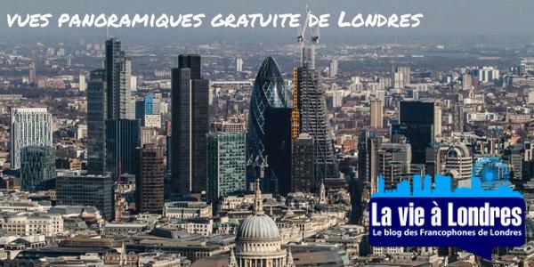 Les plus belles vues panoramiques gratuite de Londres