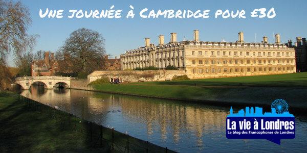 Cambridge bons plans