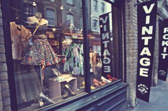 vintage shop londres