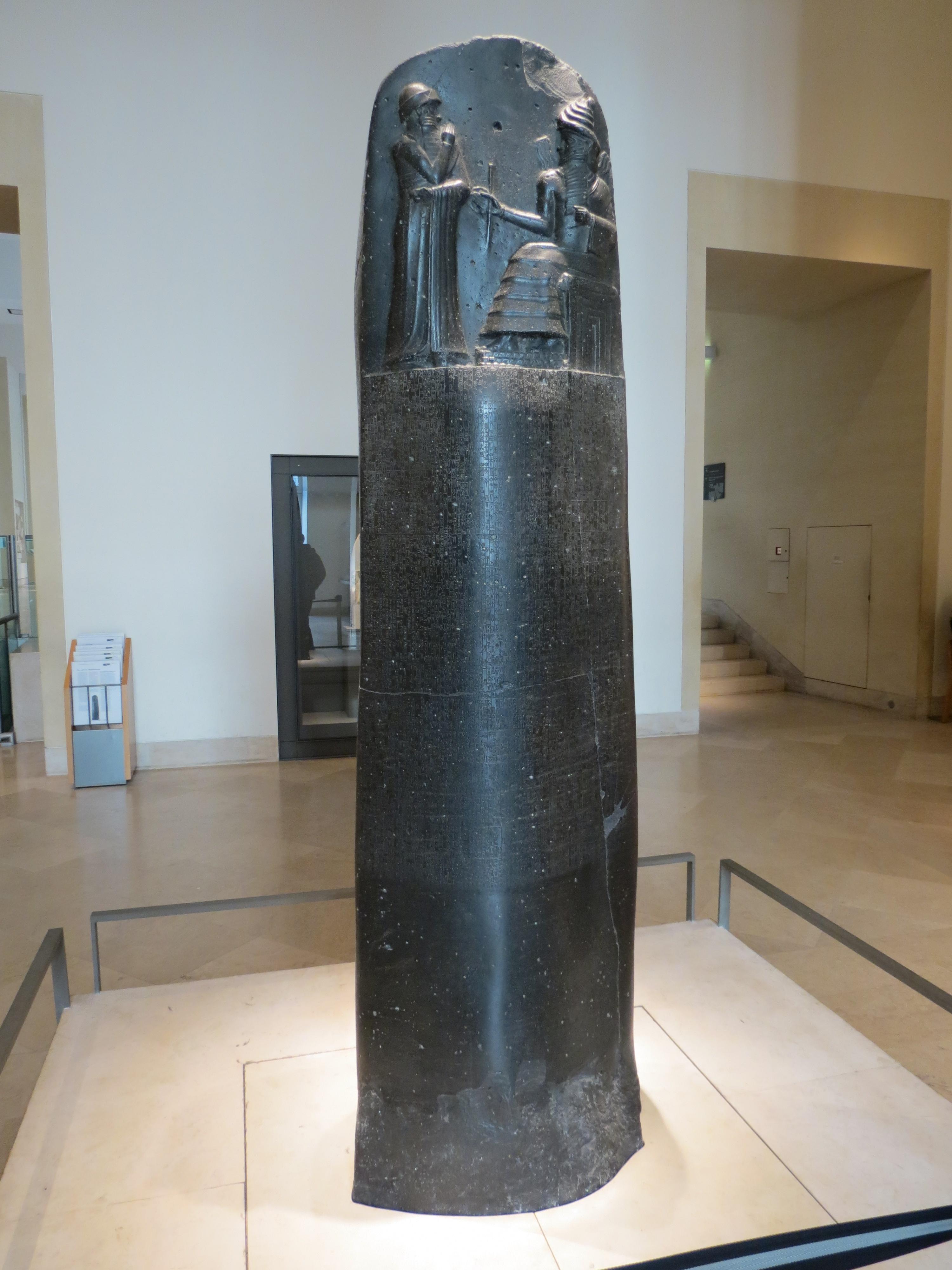 Code Of Hammurabi The Code Of Hammurabi Is A Well Preserv