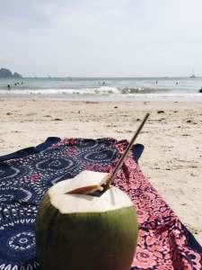 long drink in a coconut - my bucketlist