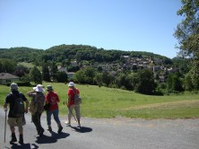 Join a local walking group to polish up your French-speaking language skills and have a great day with new friends.