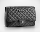 chanel-timeless-classic-flap-medium-silver