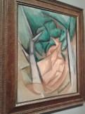 Les arbres verts à l'Estaque de Raoul Dufy