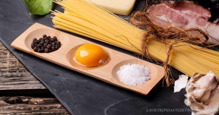 sauce carbonara italienne