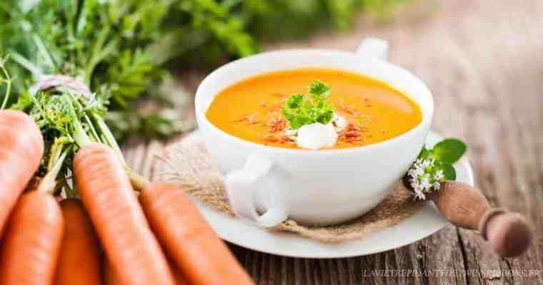 Soupe de carotte au curry